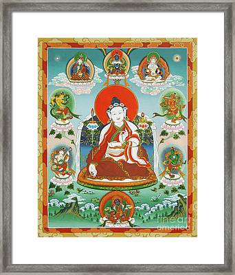 Yuthok Bumseng With Retinue Framed Print