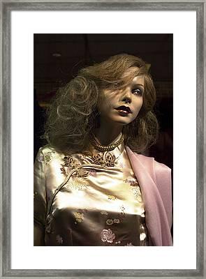 Yvette Framed Print by Jez C Self