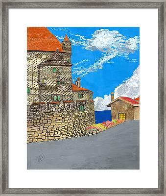Yvoir Framed Print