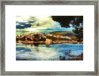 Yvonnes World Framed Print by Isabella F Abbie Shores FRSA
