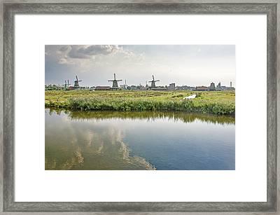 Zaandam Skyline Framed Print