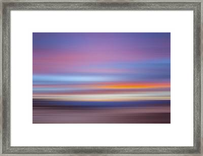 Zabriski Colors X Framed Print by Jon Glaser