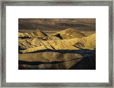 Zabriskie Point 2045 Framed Print