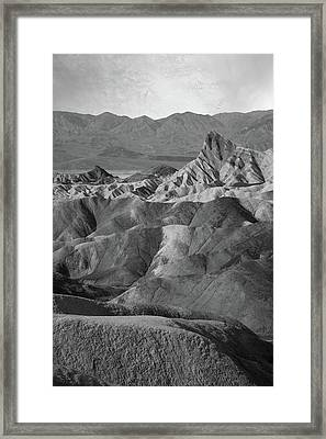 Zabriskie Point Portrait Framed Print