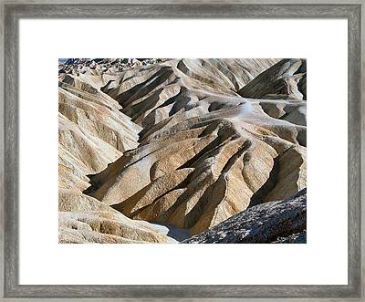 Zabriskie Point Framed Print by William Thomas