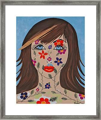 Zahir Framed Print
