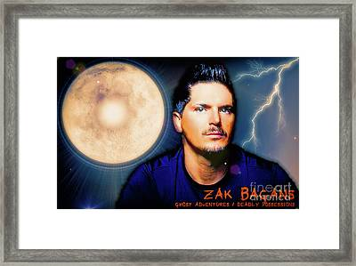 Zak Bagans - The Man Framed Print