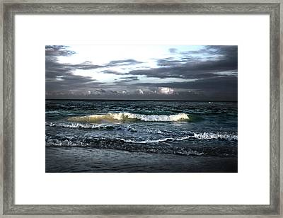 Zamas Beach #11 Framed Print