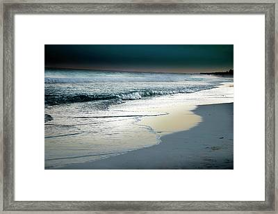Zamas Beach #13 Framed Print