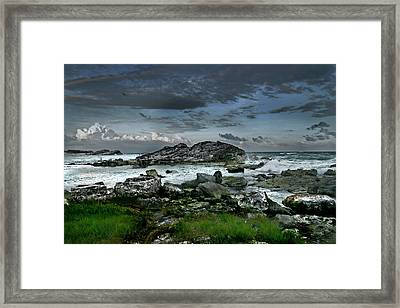 Zamas Beach #14 Framed Print