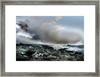 Zamas Beach #2 Framed Print