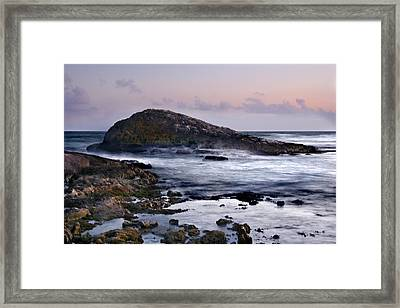 Zamas Beach #6 Framed Print