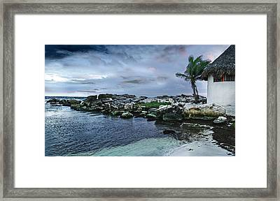 Zamas Beach #8 Framed Print