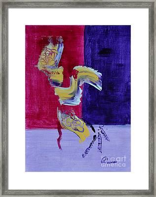 Zanardi Framed Print