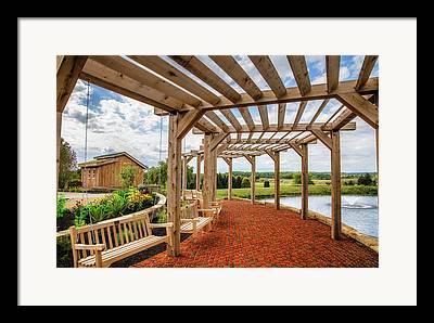 Nature Center Pond Framed Prints
