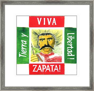 Zapata Framed Print by Paul Helm