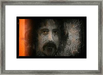 Zappa-the Deathless Horsie Framed Print