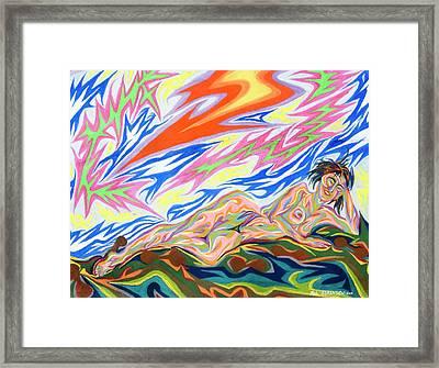 Zapped Framed Print by Robert SORENSEN