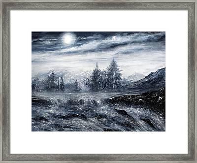 Zealous Waters Framed Print by Ann Marie Bone
