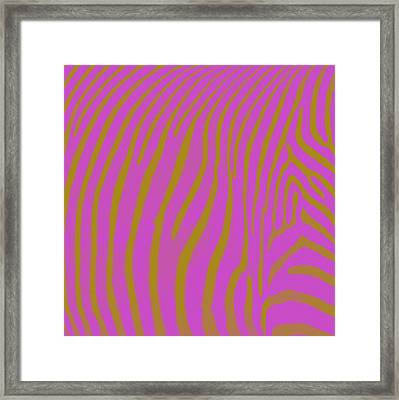 Zebra Shmebra Framed Print