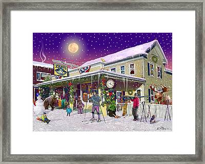 Zebs General Store In North Conway New Hampshire Framed Print
