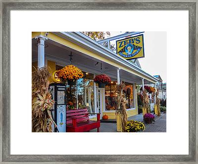 Zebs General Store, North Conway 1 Framed Print