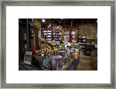 Zebs, North Conway Framed Print