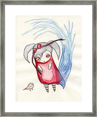 Zeeroh Tew Framed Print by Lindsey Cormier