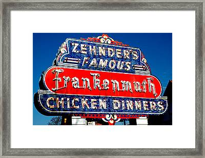 Zehnder's Frankenmuth Michigan Framed Print