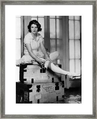 Zelda Fitgerald, 1931 Framed Print by Everett