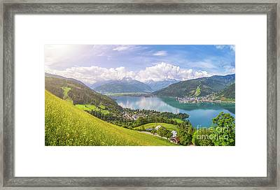 Zell Am See - Alpine Beauty Framed Print by JR Photography