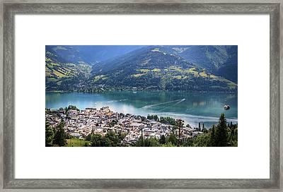 Zell Am See Austria Framed Print