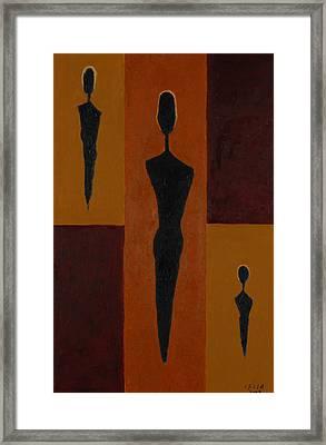 Five Daughters  Framed Print by Harris Gulko