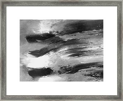 Zen Abstract A715d Framed Print