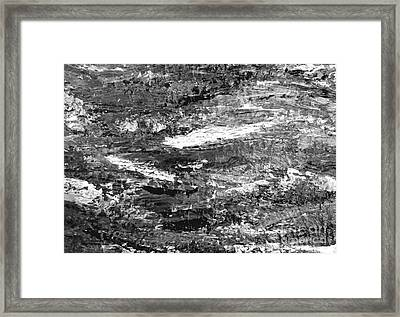Zen Abstract A723b Framed Print
