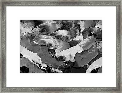 Zen Abstract Series N1015al Framed Print