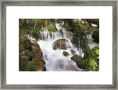Zen At Yosemite Framed Print