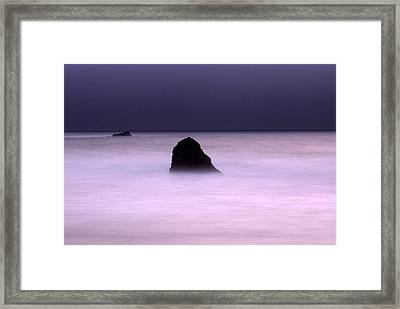 Framed Print featuring the photograph zen by Catherine Lau