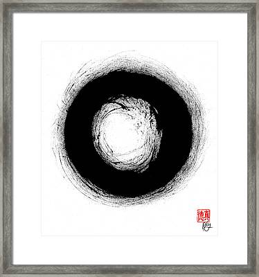 Zen Circle Three Framed Print
