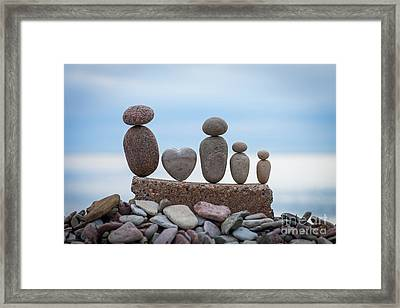 Zen Family Framed Print