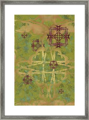 Zen Fly Colony Framed Print
