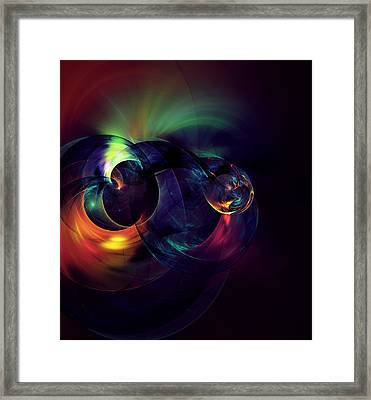 Zen Knot Framed Print