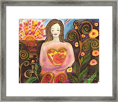 Zen Morning Framed Print
