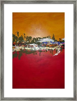 Zen Framed Print by Nicole Lee