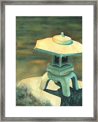 Zen Of Light Framed Print