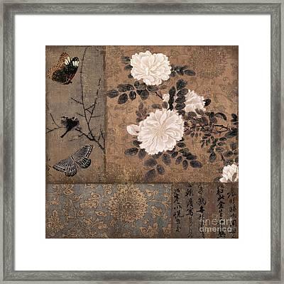 Zen Spice Framed Print
