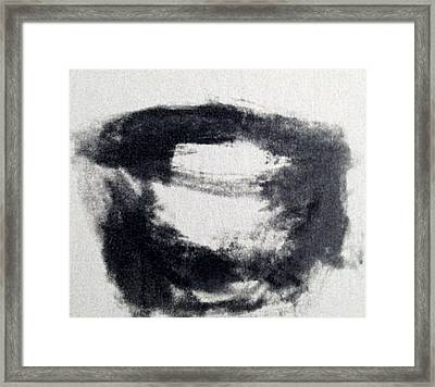 Zen Tea Bowl Framed Print by Nick Young