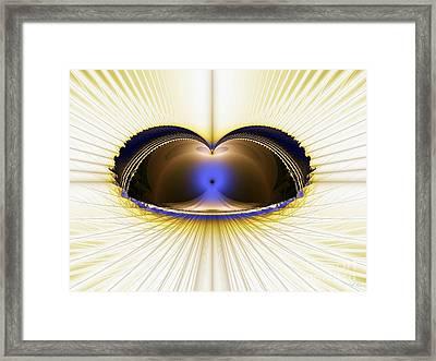 Zen Temple Framed Print