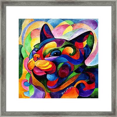 Zen Ziggy Framed Print by Sherry Shipley