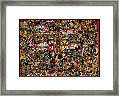 Zengine Framed Print